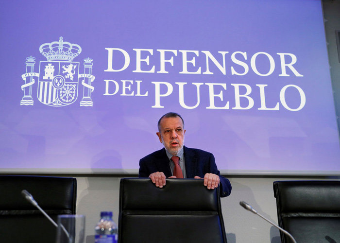 El Defensor del Francisco Fernández Marugán.